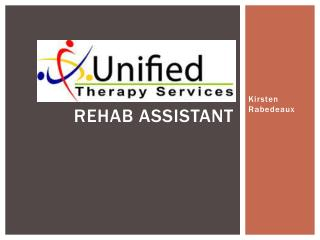 Rehab Assistant