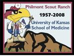 Opportunities for 1st Year Students at Philmont Scout Ranch