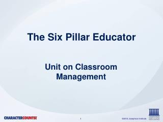 The Six Pillar Educator