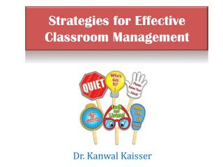 Strategies for Effective Classroom Management