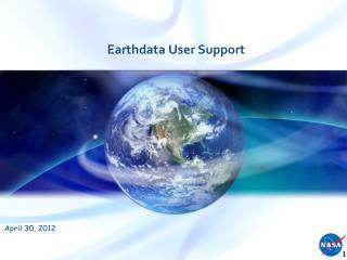 Earthdata  User Support