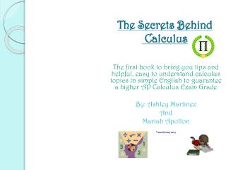 The Secrets Behind  Calculus