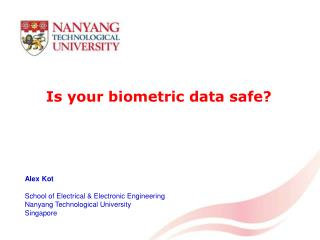 Is your biometric data safe?