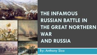 The Infamous Russian Battle in The Great Northern War and Russia