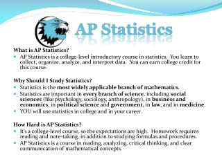 What is AP Statistics?