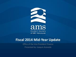 Fiscal 2014 Mid-Year Update