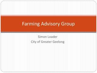 Farming Advisory Group
