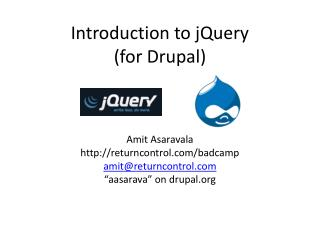 Introduction to jQuery (for Drupal)