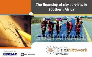 The financing of city services in Southern Africa