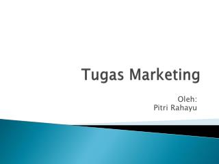 Tugas  Marketing