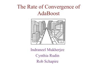 The Rate of Convergence of  AdaBoost