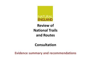 Review of National Trails and Routes Consultation