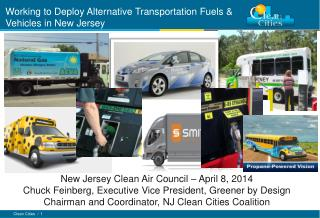 Working to Deploy Alternative Transportation Fuels  & Vehicles in New Jersey