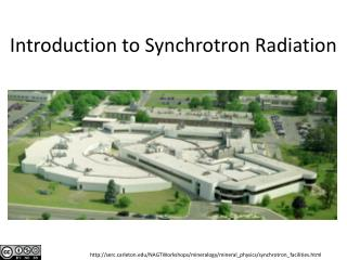 Introduction to  Synchrotron  Radiation