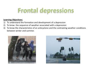 Frontal depressions