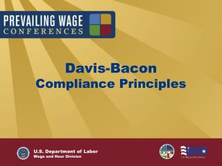 Davis-Bacon Compliance Principles