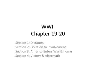 WWII Chapter 19-20