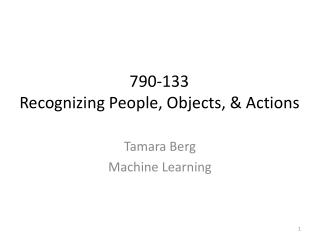 Tamara Berg Machine Learning