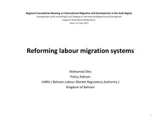Reforming labour migration systems