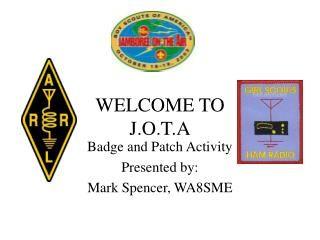 WELCOME TO J.O.T.A