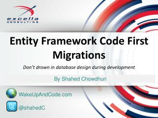 Entity Framework Code First Migrations