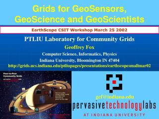 Grids for GeoSensors