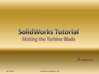 SolidWorks  Tutorial Making the Turbine Blade