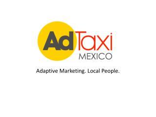 Adaptive Marketing. Local People.