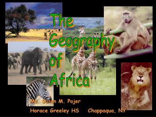 The Geography of Africa