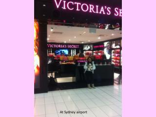 At Sydney airport
