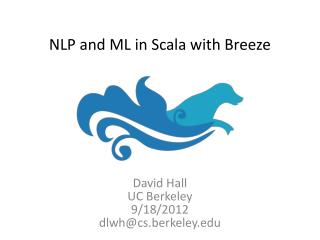 NLP and ML in  Scala  with Breeze