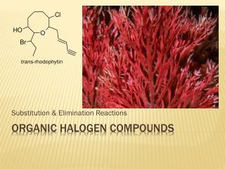 Organic halogen compounds