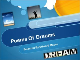Poems Of Dreams