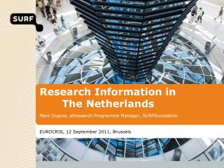 Research Information in  The Netherlands