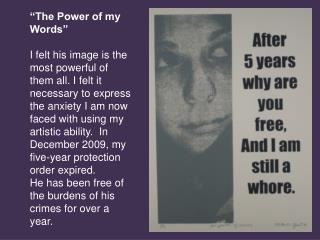"""""""The Power of my Words"""""""