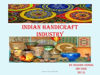 INDIAN HANDICRAFT INDUSTRY