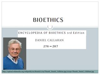 Intro to Bioethics