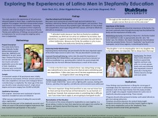 Exploring the Experiences of Latino Men in Stepfamily Education