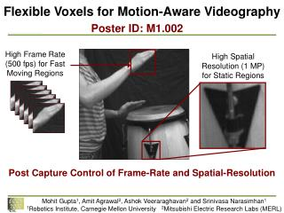 Flexible  Voxels  for Motion-Aware  Videography