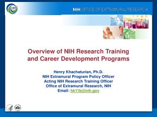 NRSA Fellowships (F) & Training (T) Grants