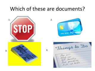 Which of these are documents?