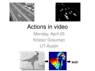 Actions in video