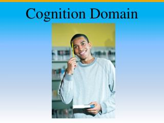Cognition Domain