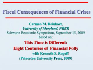 Fiscal Consequences of Financial Crises