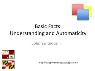 Basic Facts  Understanding and Automaticity