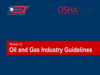 Oil and Gas Industry Guidelines