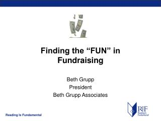 "Finding the ""FUN"" in  Fundraising"