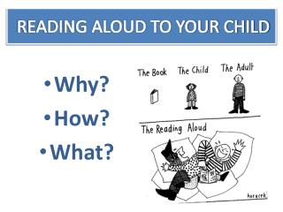 READING ALOUD TO YOUR CHILD
