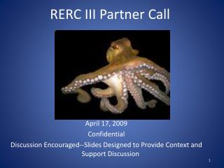 RERC III Partner Call