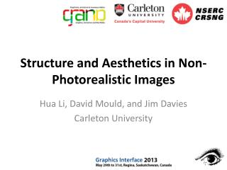 Structure and Aesthetics in Non-Photorealistic Images
